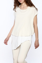 Frank And Eileen V Neck Twisted Tee