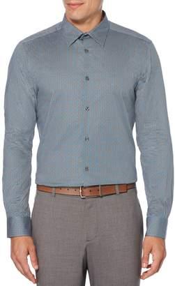 Perry Ellis Big Tall Micro-Dot Stretch Shirt
