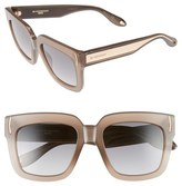 Givenchy Women's 53Mm Sunglasses - Mud Beige/ Grey