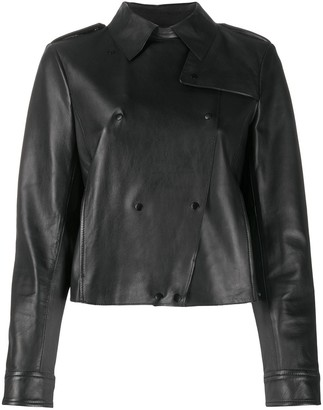 Seventy Double Breasted Cropped Jacket