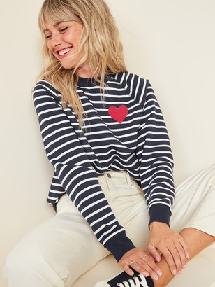 Old Navy Vintage Crew-Neck Sweatshirt for Women