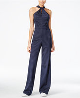 Bar III Sleeveless Twist-Knot Jumpsuit, Only at Macy's