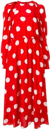 MSGM polka dot dress