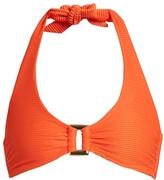 Heidi Klein Cayman Islands halterneck bikini top