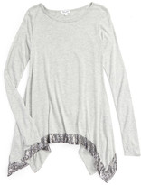 Splendid Sequin Trim Top (Big Girls)
