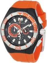 Technomarine Men's 112011 Cruise Locker Nylon Strap with Key Ring Dial Watch