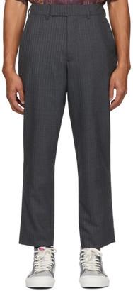 Rochambeau Grey Creased Trousers