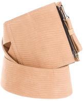 Zero Maria Cornejo Textured Suede Waist Belt