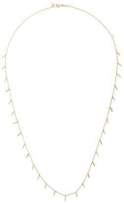Sydney Evan 14kt Yellow Gold Diamond Multi Fringe Necklace