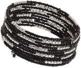 Dorothy Perkins Black Coil Bracelet