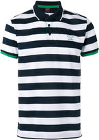 Paul & Shark contrast collar polo shirt - men - Cotton - M