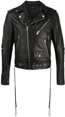Amiri Belted Biker Jacket