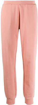 Emporio Armani Logo Print Cotton Track Pants