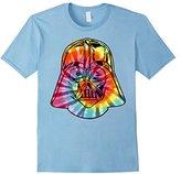 Star Wars Tie-Dye Darth Vader Mask Graphic T-Shirt