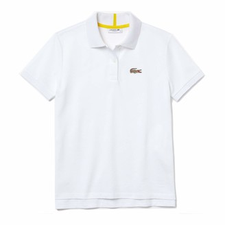 Lacoste Women's Short Sleeve National Geographic Croc Pique Polo Shirt