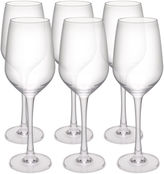 Zak Designs Trinity Set of 6 White Wine Glasses