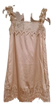 Cycle Ecru Silk Dress for Women