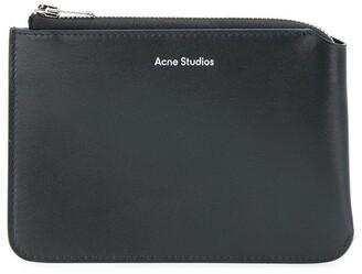Acne Studios Embossed Logo Wallet