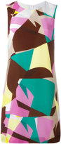 M Missoni abstract print shift dress - women - Silk/Polyester - 42