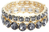 Natasha Accessories Crystal Stretch Bracelet Set