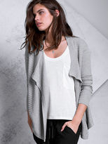 Victoria's Secret A Kiss of Cashmere Luxe Drape Cardigan Sweater