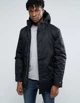 Bellfield Short Padded Parka With Magnetic Fastening