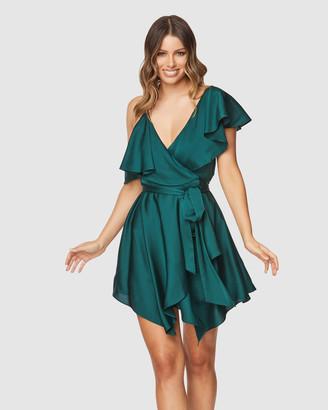 Pilgrim Women's Green Mini Dresses - Canela Mini Dress - Size One Size, 6 at The Iconic