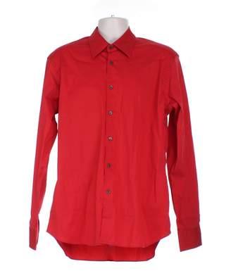 Prada Red Cotton Shirts