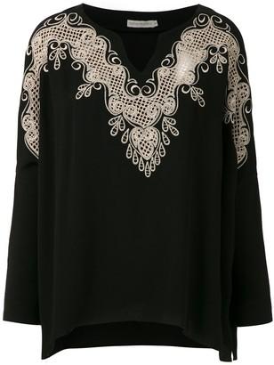 Martha Medeiros Kimora lace blouse