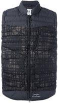adidas x White Mountaineering pixel padded gilet - men - Polyamide/Polyester - S