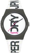 Superdry Urban Glitter Silicone Strap Women's Watch