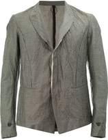 Masnada crumpled blazer