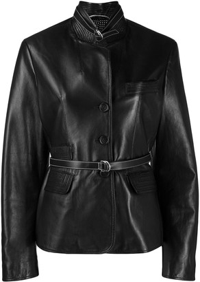 Ermanno Scervino Belted Fitted Blazer