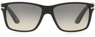 Persol 58MM Rectangular Sunglasses