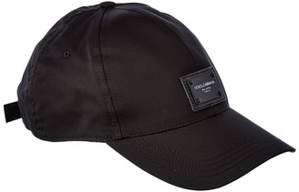 Dolce & Gabbana Logo Plaque Baseball Hat