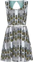 Yumi Womens/Ladies Pineapple Stripe Dress