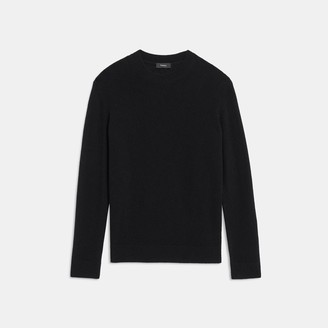 Theory Relaxed Crewneck Sweater in Feather Cashmere