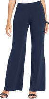 JM Collection Petite Pull-On Wide-Leg Pants, Only at Macy's