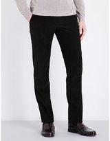 Corneliani Slim-fit Mid-rise Corduroy Trousers