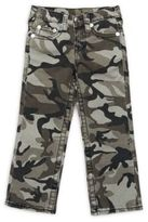 True Religion Little Boy's Straight-Fit Camo Pants