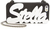 Stella McCartney Stella Iphone 6/6S Crossbody Chain Case - Black