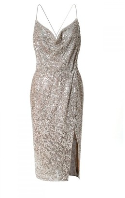 Aggi Kim Champagne Dress