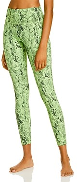 Alo Yoga High Waist Vapor Snakeskin Leggings