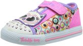 Skechers Girl's Skechers, S Lights Shuffles Critter Buds Slip on Light up Shoe