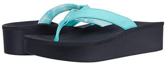 OluKai Pi'o Lua (Black/Black) Women's Sandals