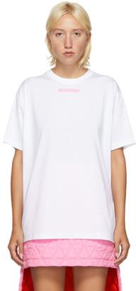 Burberry White Ronan T-Shirt