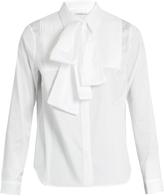 Osman Perfect 5 Sanaz pleated-bib cotton shirt