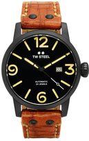 TW Steel Men's Maverick Leather Automatic Watch - MS36