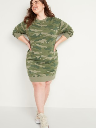 Old Navy Vintage Plus-Size Sweatshirt Shift Dress