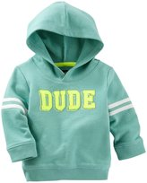 Osh Kosh Hoodie (Baby) - Icy Green - 18 Months